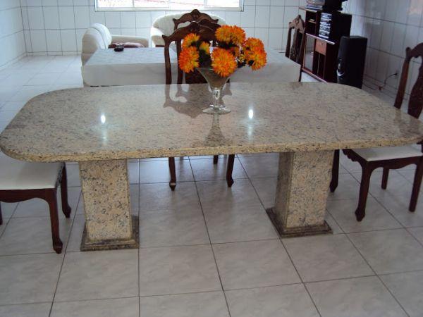 Mesas de granito amarelo icara marmoraria exata - Mesa de granito ...